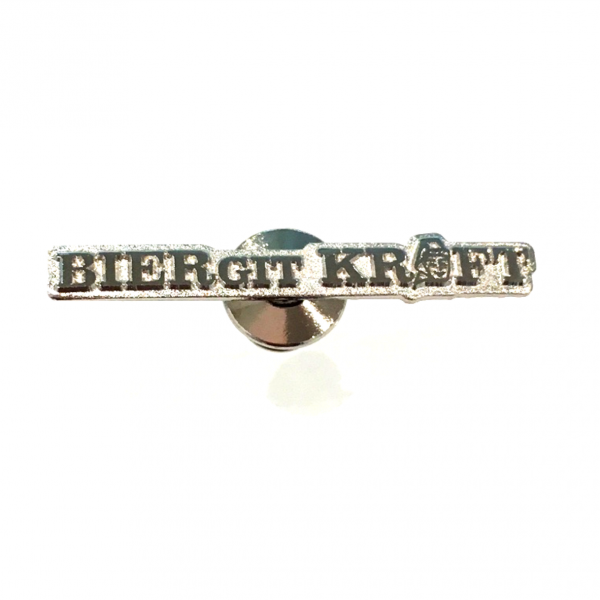 Ansteck-Pin Biergit Kraft