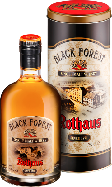 2020 - Rothaus Black Forest Single Malt Whisky 0,7l