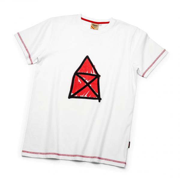 T-Shirt Rotes Haus Jubiläum