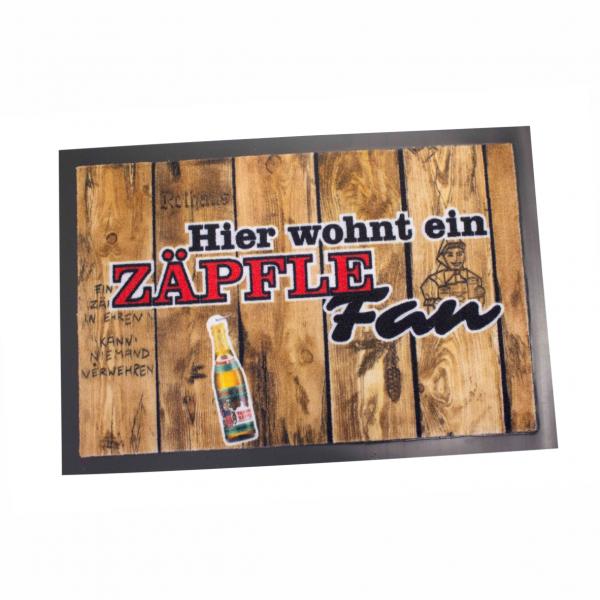 """Fußmatte """"Zäpfle-Fan"""""""