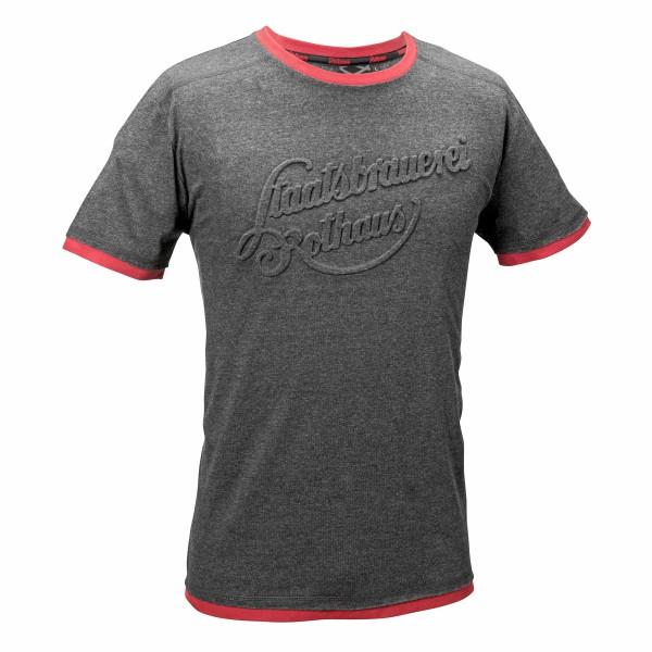 """T-Shirt """"Staatsbrauerei"""" - grau melange (Herren)"""