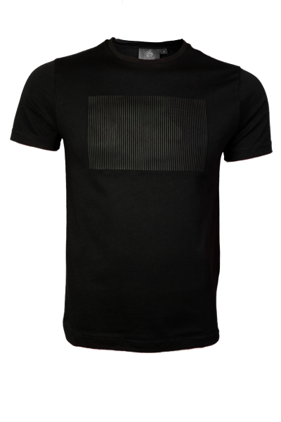 T-Shirt 3D Motiv - schwarz (Herren)