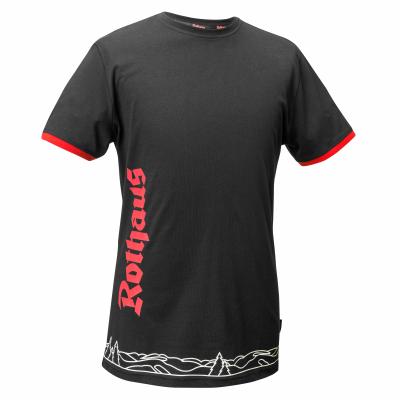 HERREN T-Shirt Classic, schwarz