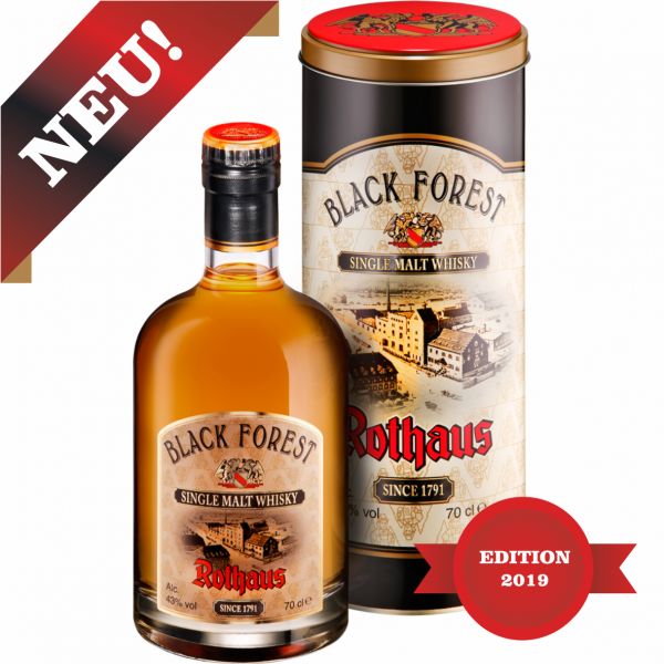 2019 - Rothaus Black Forest Single Malt Whisky 0,2 l