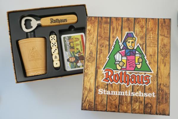 Stammtischset Rothaus