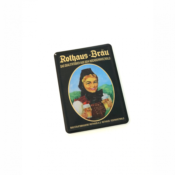 "Blechpostkarte ""Historische Biergit Kradt"""