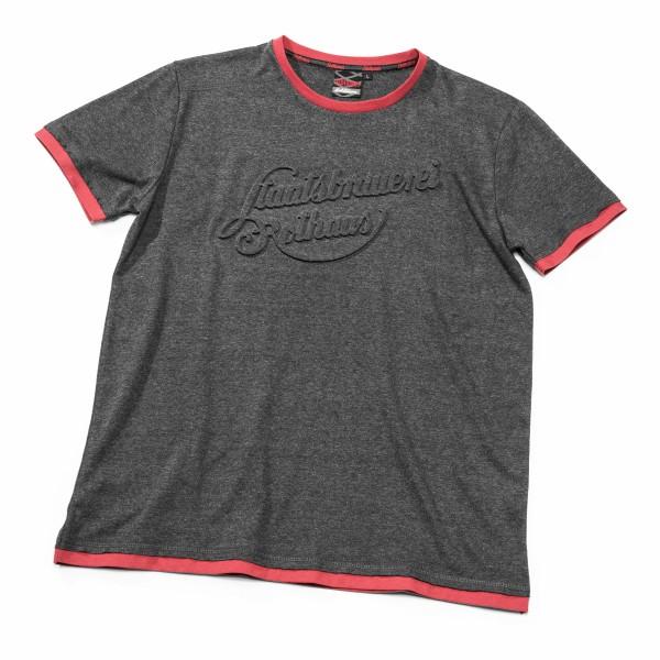 T-Shirt Staatsbrauerei, grau melange
