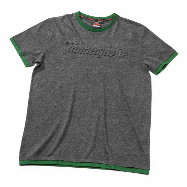 T-Shirt Tannenzäpfle, grau melange