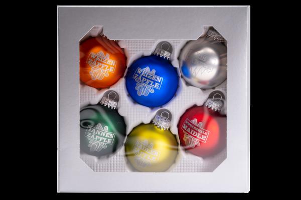 Weihnachtskugel - Zäpflefarben