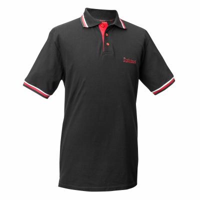 HERREN Polo-Shirt Classic, schwarz