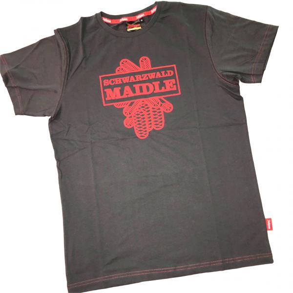 T-Shirt Schwarzwaldmaidle Schmuckzapfen