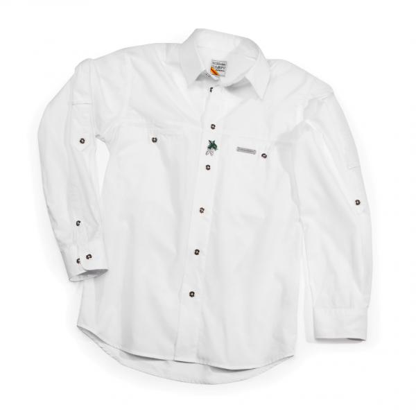 Trachtenhemd Herren weiß